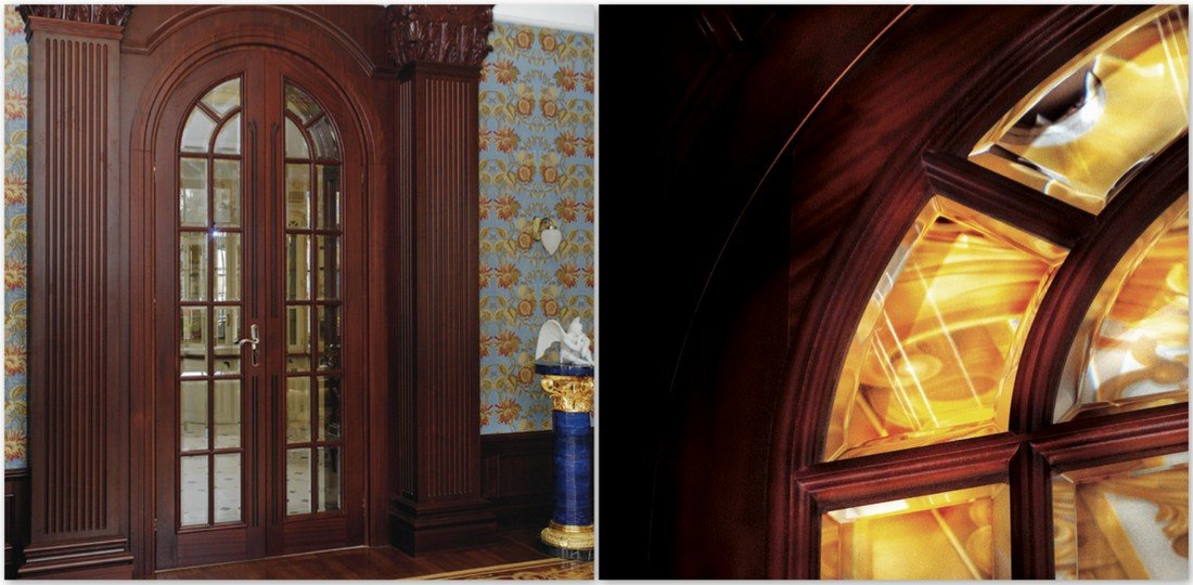 Luxury fitted internal door manufacturer UK – marvelous sapele timber exclusive high-end made to measure doors