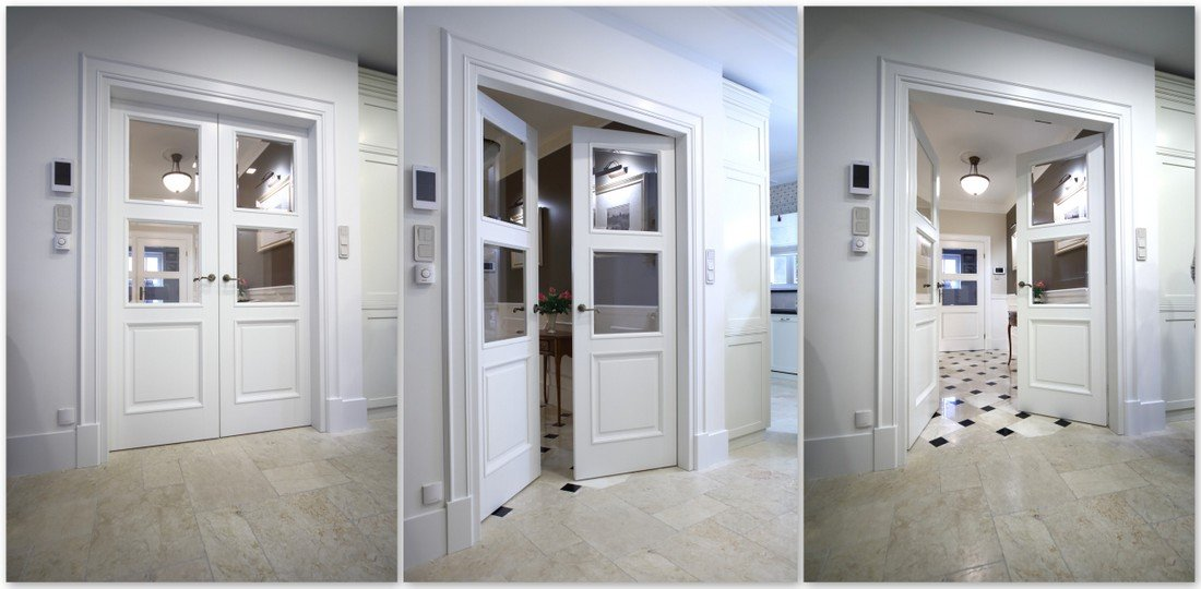 Internal doors to measure - traditional wooden bespoke doors to size – fitted interior doors manufacturer