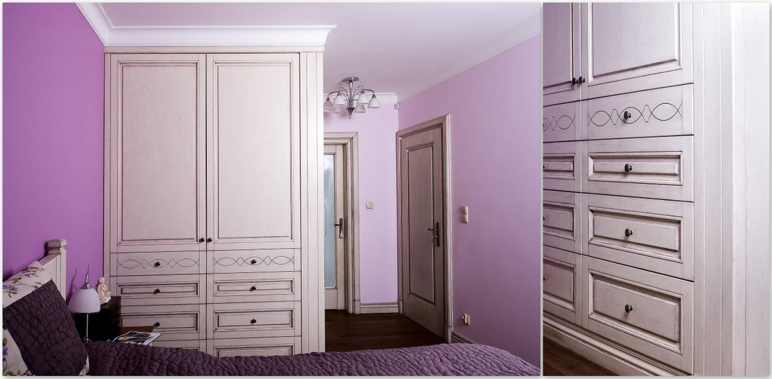 Solid wardrobe doors from fitted internal doors manufacturer offering also alder, pine, meranti, sapele and oak doors, windows and furniture