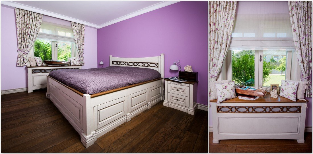 Fitted wooden windows - bespoke wooden bedroom furniture made to measure in UK