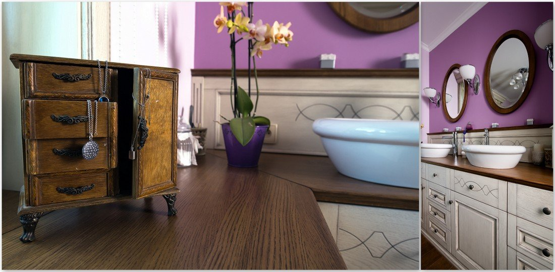 Fully fitted wooden furniture to measure, custom-made bespoke Provencal furniture to size