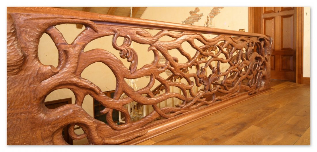 Bespoke wooden stairs: England, Scotland, Wales, Northern Ireland, Ireland, made to measure timber stairs from the UK manufacturer, oak stairs England, Scotland, Wales, Northern Ireland, Ireland - fitted oak railings