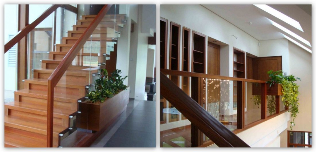 Fully fitted durable modern stairs - oak timber, bespoke, high quality, prestige, long warranty wooden stairs