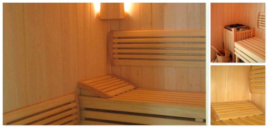Bespoke sauna manufacturer - exclusive, luxury wooden sauna - stylish, fully fitted oak timber sauna